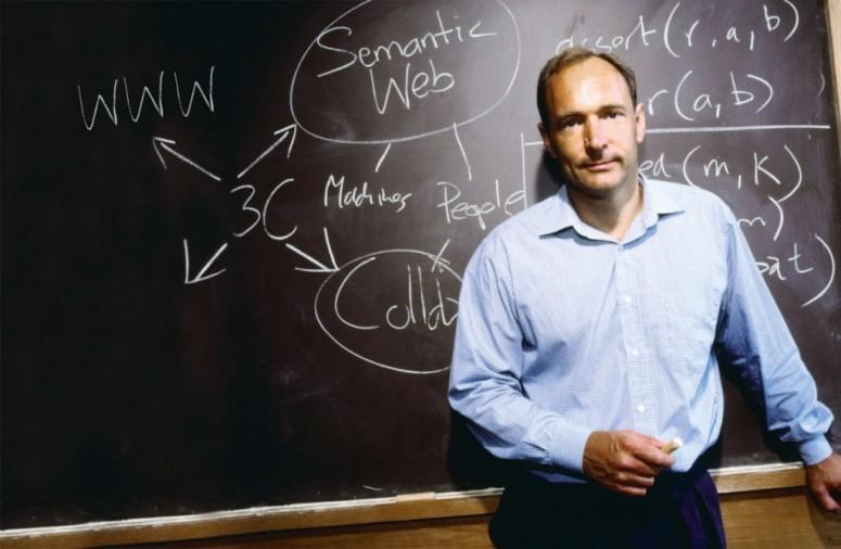 """萬維網world wide web""""之父Tim Berners-Lee爵士"""
