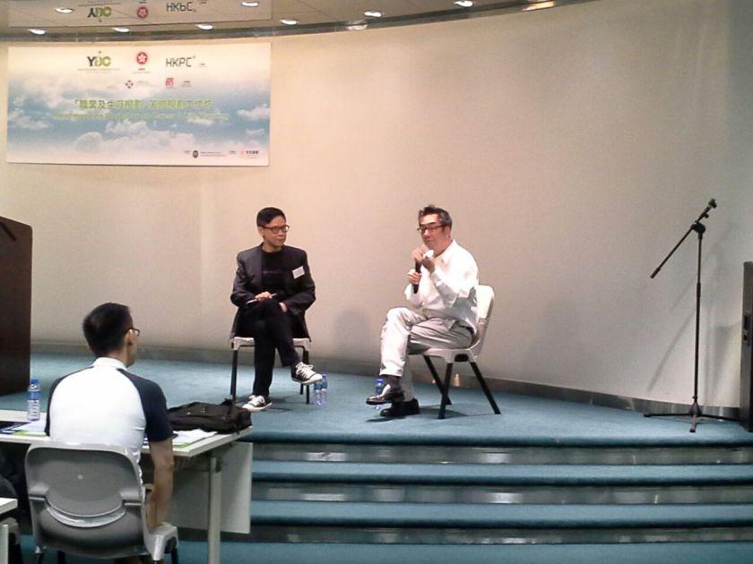 陳志雲與陶傑的分享