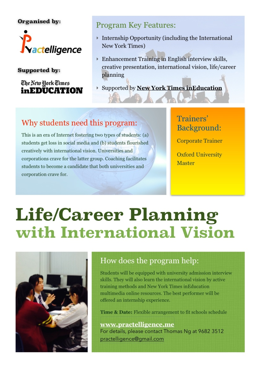 Life:career planning photo